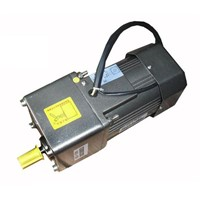 AC 380V 90W Three phase motor with gearbox. AC gear motor,