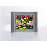 NEW Original Samkoon HMI SA-8B, SA8B 8 Inch 800x480 Touch Screen Panel with Program Cable & Software, COM1/COM2:RS232/422/4845