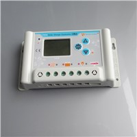 30A 36V 48V 60V wincong sl03-4830a solar Charge Controllers with USB LCD Li Li-ion lithium LiFePO4 batteries