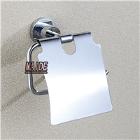 Wall Mounted Polished Chrome Toilet Paper Holder Stainless steel  Roll Paper Holder