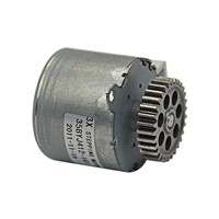 12V 2 phase 4 wire Stepper Motor High-torque Gear Round stepping motor