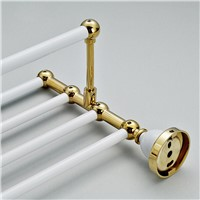 Wholesale And Retail Luxury Towel Holder Clothes Shelf for Bathroom Wall Mounted