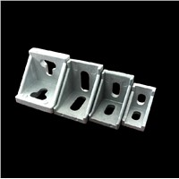 DIY 3030 Serie Corner Brackets Angle Connector Fastener for 3030 Decorative Industrial Aluminum Profile Accessories