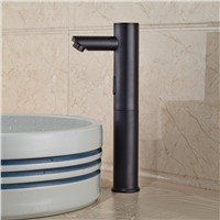 Oil Rubbed Bronze Hands Free Automatic Sensor Faucet Bathroom Basin Faucet hot and cold water tap Sink Tap