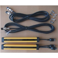 transistor PNP  normally closed 8 points 20MM   light curtain safety grating hydraulic protection punch sensor photoelectric