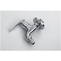 In-wall zinc alloy washing machine faucet with high quality fast on tap