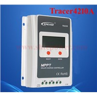 Tracer 4210A Auto Work 12v 24v Mppt Solar Charge Controller 40a with Built In Lcd