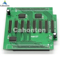 Hub127 LED control card Conversion Card  Adapter with 8*hub127 port included output 20pin