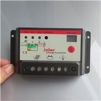 20A 12V 24V Solar Cell panels Battery Charge Controller regulators pwm with timer