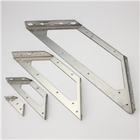 1 Pair  JM-385 Stainless steel corner bracket, Fixing bracket, bulkhead, fittings Connectors, Furniture Hardware