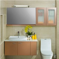 New Design Lighting bathroom furniture fancy bathroom mirror OP14-012
