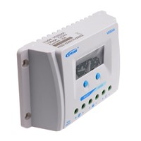 30A PWM ViewStar A Series Solar Controller 12V/24V Auto Battery Charge Regulator Max PV Input 50V with LCD Display