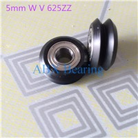 BW25 5mm W V CNC Openbuilds for 3D printer nylon wheel ball bearing with pulley 20 type track roller 625zz 625z 625 for  V-slot