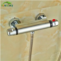 Europ Design Brass Chrome Polish Mixer Body Bathroom Thermostatic Shower Fittings