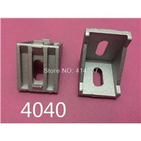 4040 corner fitting angle aluminum  40 x 40 connector bracket fastener match use 4040 industrial aluminum profile