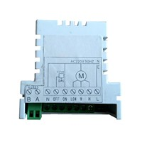 MODBUS RS485 digital thermostat temperature controller with fan speed controller