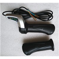 48V DC motor speed controller, Twist Throttle /Speed Handle/ Gas Acceleratorwith battery indicator