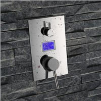 Digital shower mixer with display digital shower mixer shower faucet mixer digital display shower panel without battary