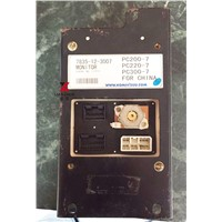 PC200-7 PC300-7 Excavator monitor for Komatsu replacement spare parts English LCD display panel 7835-12-3007