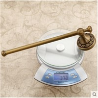 High Quality New Arrivals Antique Brass Vintage Style Bathroom Towel Bar Bathroom Towel Rack Towel Hanger