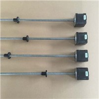 Threaded nema17 stepper w/ 460mm Tr8*12 leadscrew// Acme Leadscrew Threaded Rod Nema17 Stepper  Motor