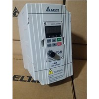 VFD004M21A DELTA VFD-M VFD Inverter Frequency converter 400w 0.5HP 1PHASE 220V 400HZ for Small processing machinery