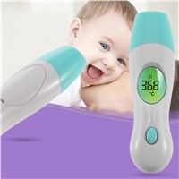 4 In 1 Multi-purpose Baby Adult Digital 4 in 1 Forehead Ear Infrared IR Thermometer Multi-Function Temperature Measurement Tools
