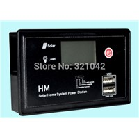 with 2 USB 10A 12V/24V LCD PWM Solar Charge Controllr Solar Panel Regulator Charge Controller