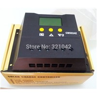CM5024Z PWM Solar Charge Controller 50A 12V/24VDC Solar Panel Battery Regulator 50A Solar Charger 600W/1200W
