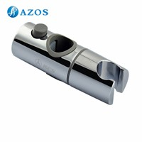 Replacement 20mm Hand Held Shower Bracket for Slider Height & Angle Adjustable Sprayer Holder on Slide Bar Chrome HSZ011