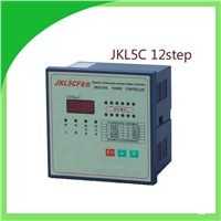 JKL5C power factor corrector reactive power auto-compensation controller for capacitor 12step 380v PRCF