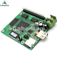 U-3 USB /SD asynchronous full color video led control card 384*128,768*64pixels U disk rgb module led screen drive system