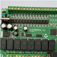 plc programmable logic controller single board plc 20MR FX2N-2AD 12 input  8output  0~10V