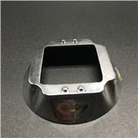 58mm LED Reflector Cup 30-100W Square LED Condenser Cup Electroplate 1 piece