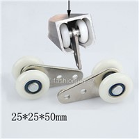 High Quality 40PCS Window Curtain Hanging Pulleys Bearing Wheels Rollers for Heavy Duty Curtain