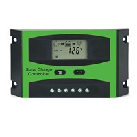 30A 48V LD4830C PWM Solar cell panel battery Charge Controller Regulators LCD Display