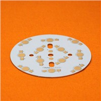 12W LED PCB, 78mm for 12pcs LEDs, aluminum plate base, Aluminum PCB Printed Circuit Boards, high power 12W LED DIY PCB