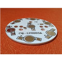 7W LED PCB 49mm for 7pcs LEDs, aluminum plate base, Aluminum PCB Printed Circuit Boards, high power 7W LED DIY PCB
