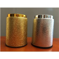 Gold silver cup, high-grade KTV leather sieve box, color cup places with personal hobby collecting Jiapin popular