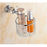 Wall Mounted Brass & Diamond Bathroom Accessories Toilet Paper Holder bathroom tissue box toilet roll holder