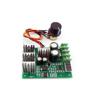 Digital display PWM DC motor speed controller display 0~100% adjustable drive module 6V12V24V36V48V60V Max30A