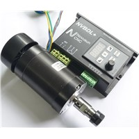 Brushless Motor Driver Without Hall with CNC Machine 400W BL Engraver Spindle Motor 48VDC ER8