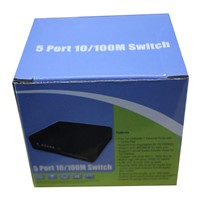 passive 5 Port Poe Switch 12V  4/5+ 7/8- ethernet 10/100Mbps switch poe 4 port power for cctv camera ip cameras