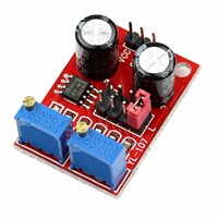 Frequency Adjustable Module Duty Cycle Square Wave Stepper Motor Driver NE555