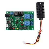Digital Temperature Humidity Controller control Module thermal regulator Relay termometro digitale thermometre