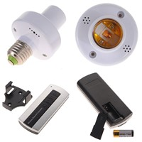 4pcs E27 Wireless Remote Control Light Lamp Bulb Holder Cap Socket Switch US SHIP Incandescent Less than 1000W Favorable Price