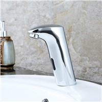 Copper Faucet Automatic Faucet DC Leading Intelligent Sensor Single Tap