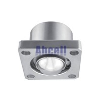 "UK-51 2"" Flanged 350kgs Load Capacity Steel Ball Roller Caster bearing wheel 51mm Ball Downside Facing UK51 Ball Transfer Unit"