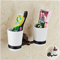 Black Toothbrush Cup Holder Antique Brass Cup Bathroom Holder Ceramic Toothbrush Cup Black Bathroom Accessories