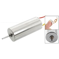 DC 3V 60-70mA 20000-40000RPM Electric Coreless Motor for RC Helicopter Toy